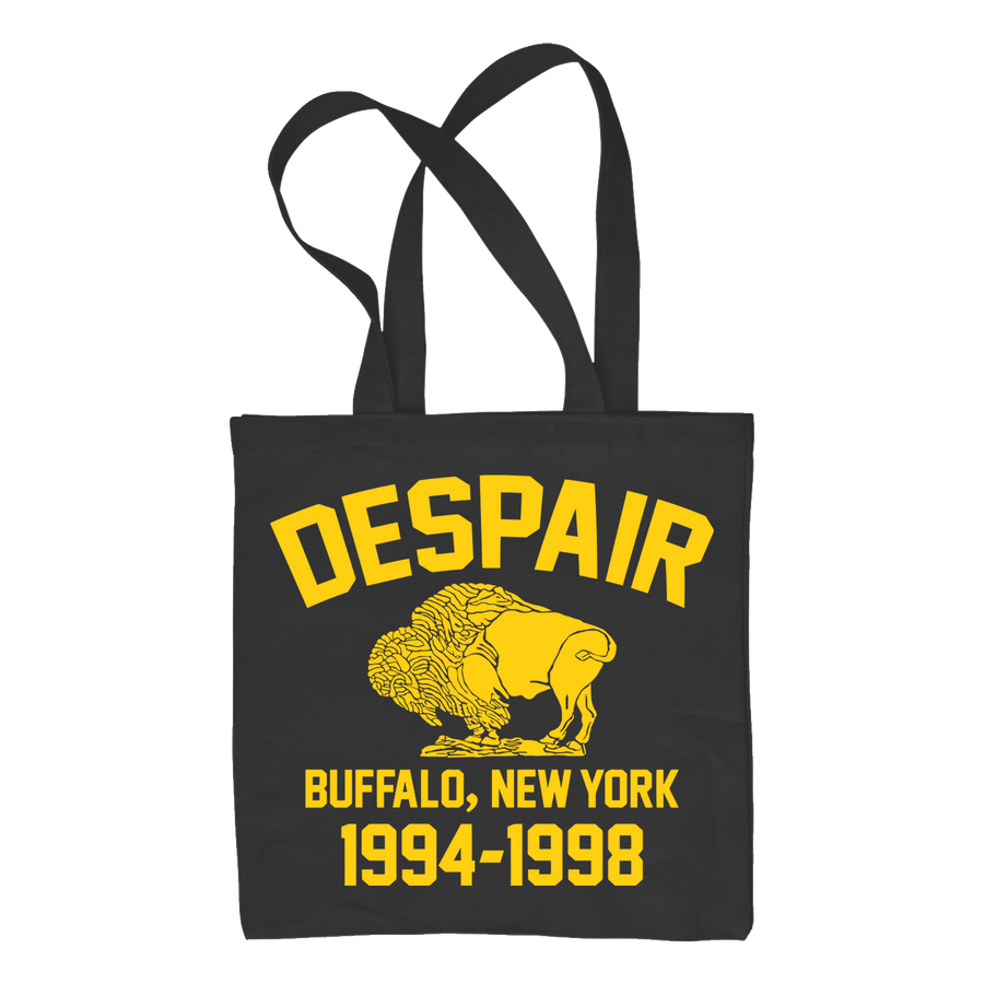"Despair ""Buffalo Hardcore"" Tote Bag"