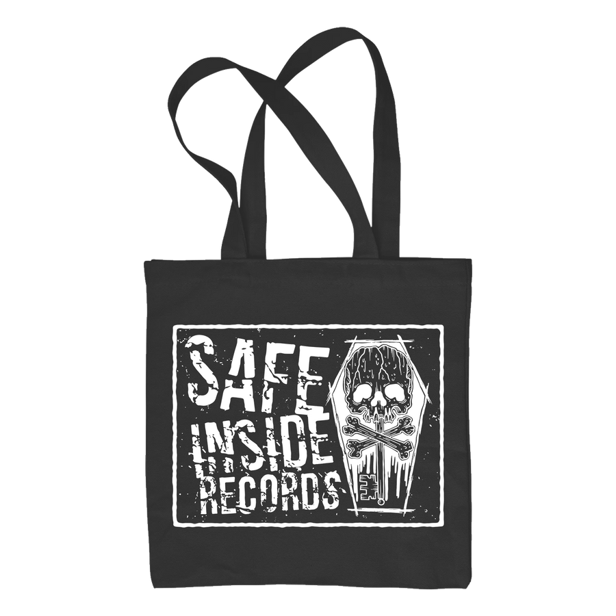"Safe Inside ""Logo"" Tote Bag"