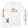 "Soul Power ""The Low End Fury"" White Longsleeve"