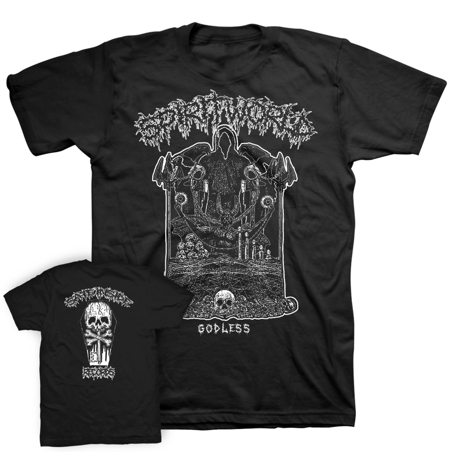 "Spirit World ""Godless"" Black T-Shirt"