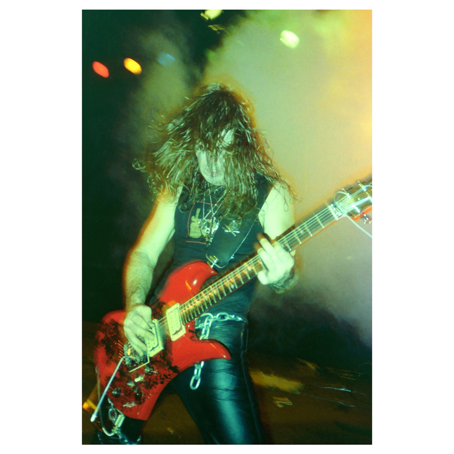 "Harald Oimoen ""Kerry King: Seattle, WA (1985)"" Giclee Print"