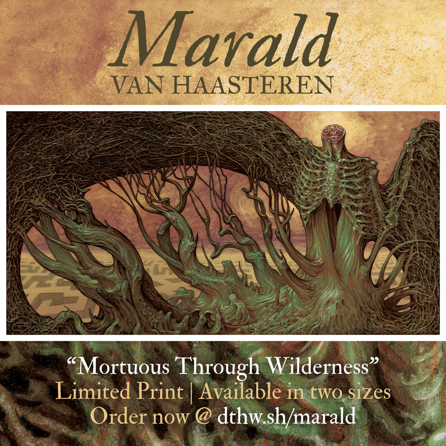 "Marald Van Haasteren ""Mortuous Through Wilderness"" Giclee Print"