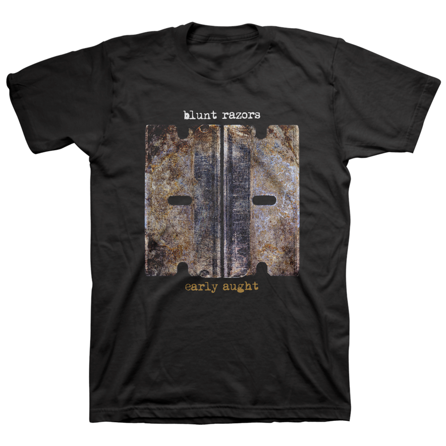 "Blunt Razors ""Early Aught Blades"" Black T-Shirt"