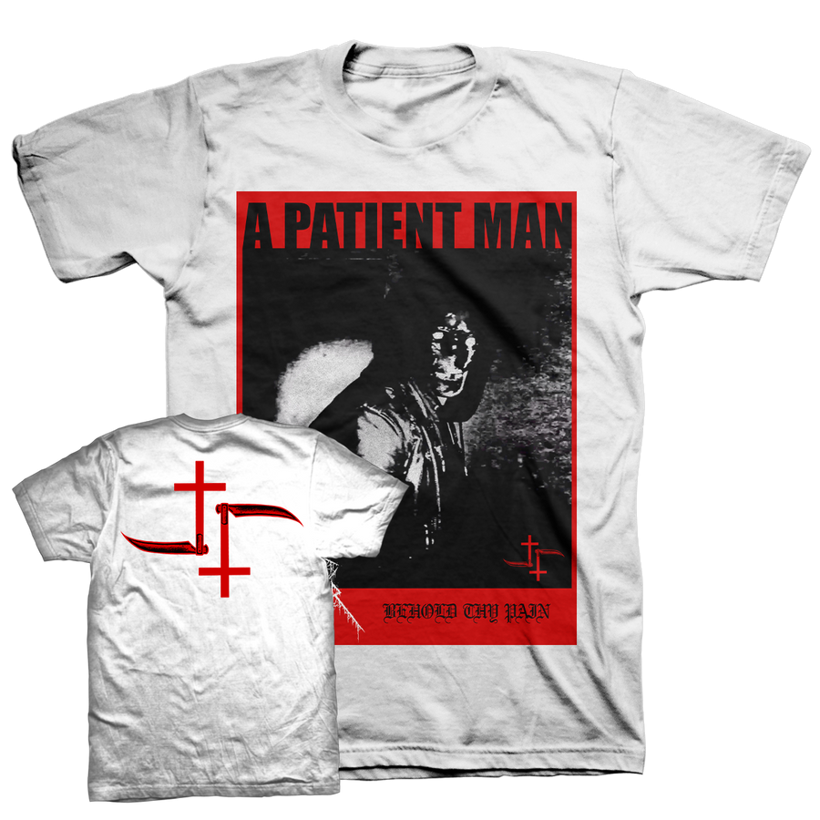 "Cult Leader ""Behold Thy Pain"" White T-Shirt"