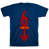 "Die 116 ""Arrow"" Navy T-Shirt"