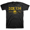 "Die 116 ""Human Machine"" Black T-Shirt"
