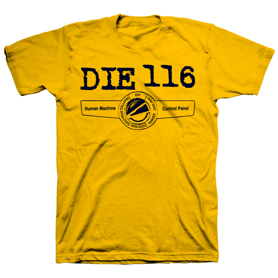 "Die 116 ""Human Machine"" Yellow T-Shirt"