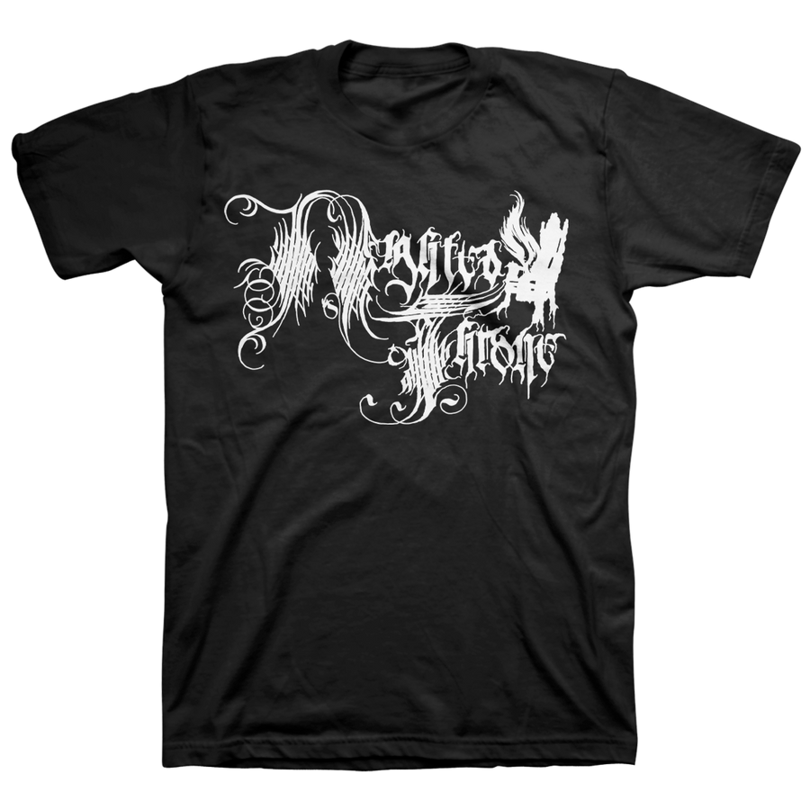 "Nighted Throne ""Logo"" Black T-Shirt"