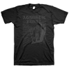 "Agnostic Front ""85 Tour"" Black On Black T-Shirt"