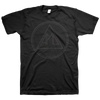 "All Pigs Must Die ""Logo"" Black On Black T-Shirt"