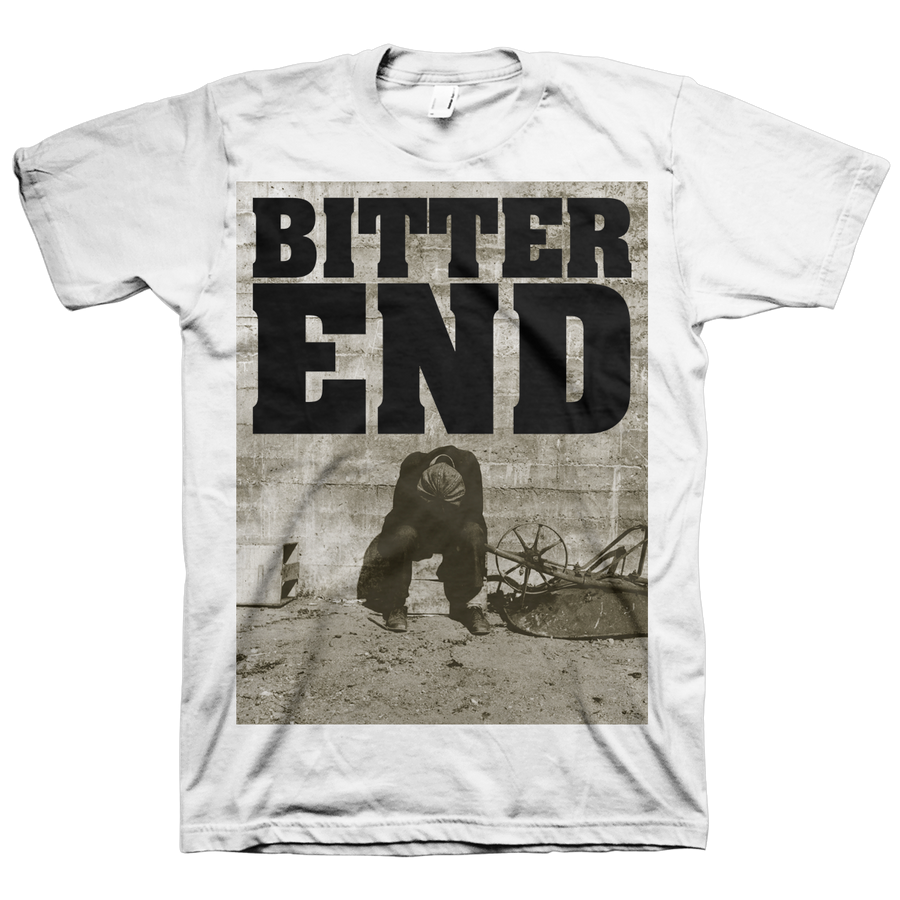 "Bitter End ""Illusions Of Dominance"" White T-Shirt"