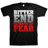 "Bitter End ""Climate Of Fear"" Black T-Shirt"