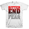 "Bitter End ""Climate Of Fear"" White T-Shirt"