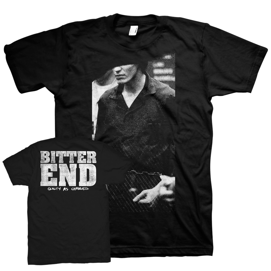 "Bitter End ""Guilty As Charged"" Black T-Shirt"