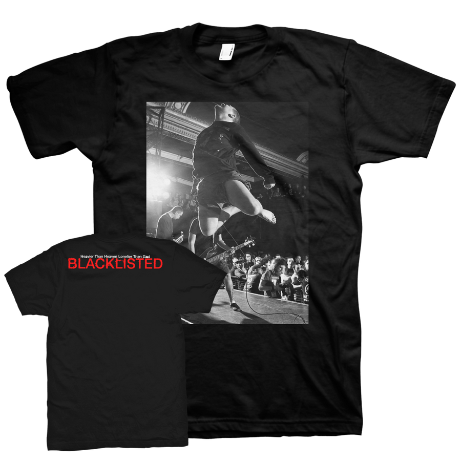 "Blacklisted ""G. In Flight"" Black T-Shirt"