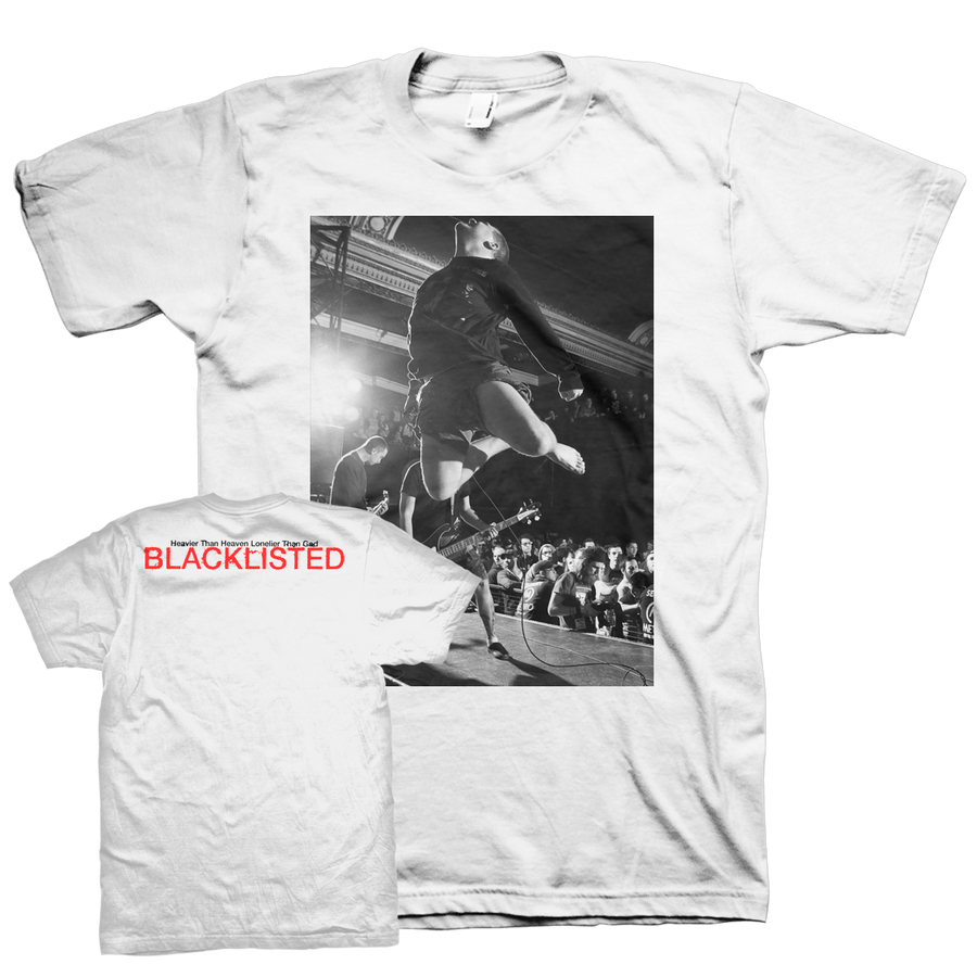 "Blacklisted ""G. In Flight"" White T-Shirt"