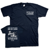 "Better Than A Thousand ""Value Driven"" Navy Blue T-Shirt"