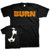 "Burn ""Face"" Black T-Shirt"