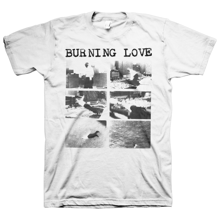 "Burning Love ""Down So Long"" White T-Shirt"