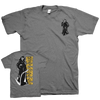 "Burn ""Reaper Pocket"" Grey T-Shirt"