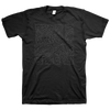 "Burn ""Square Logo"" Black On Black T-Shirt"