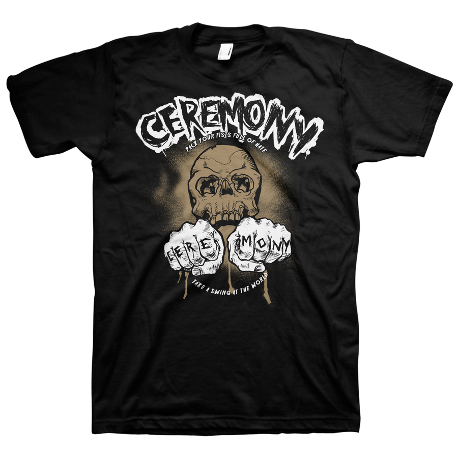 "Ceremony ""Fists"" Black T-Shirt"