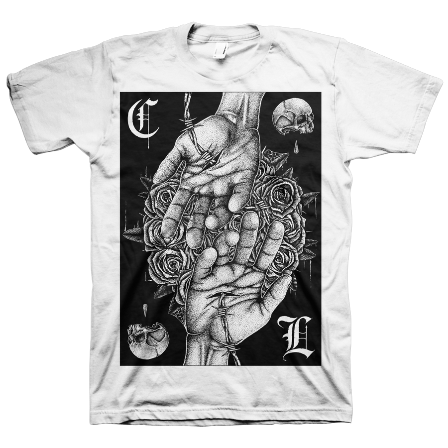 "Cult Leader ""Lightless Walk"" White T-Shirt"
