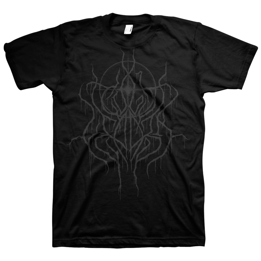 "Cult Leader ""Grey Logo"" Black T-Shirt"