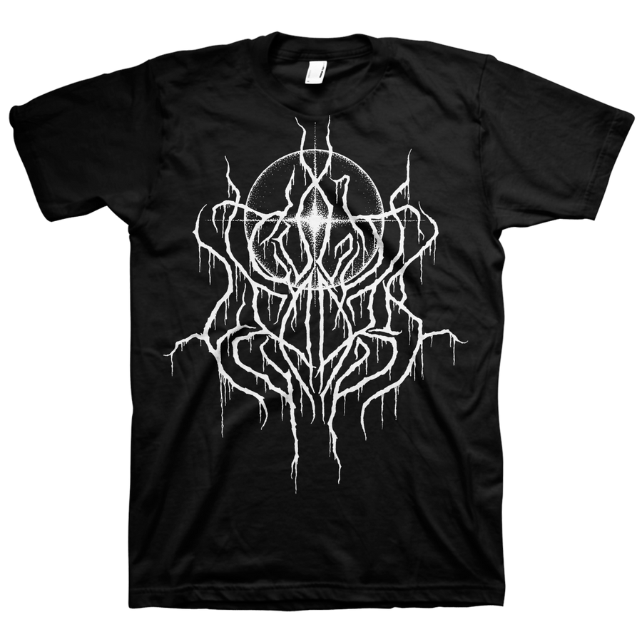 "Cult Leader ""White Logo"" Black T-Shirt"