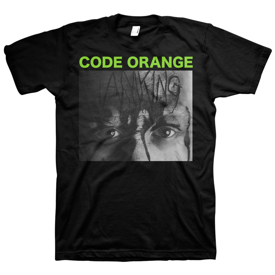 "Code Orange ""I Am King"" Black T-Shirt"