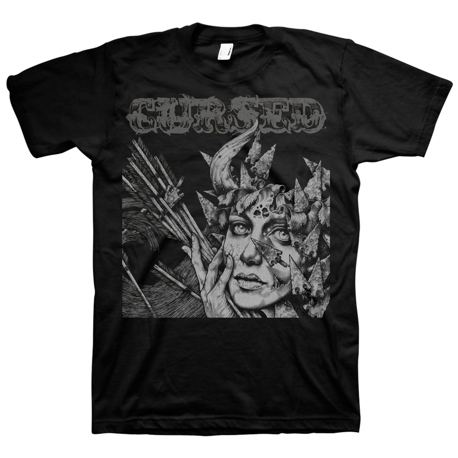 "Cursed ""III"" Black T-Shirt"