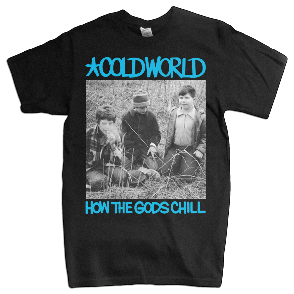 "Cold World ""HTGC Cover"" Black T-Shirt"