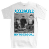 "Cold World ""HTGC Cover"" White T-Shirt"
