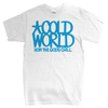 "Cold World ""HTGC Logo"" White T-Shirt"