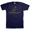 "Death Of Lovers ""Buried Under A World Of Roses"" Navy T-Shirt"