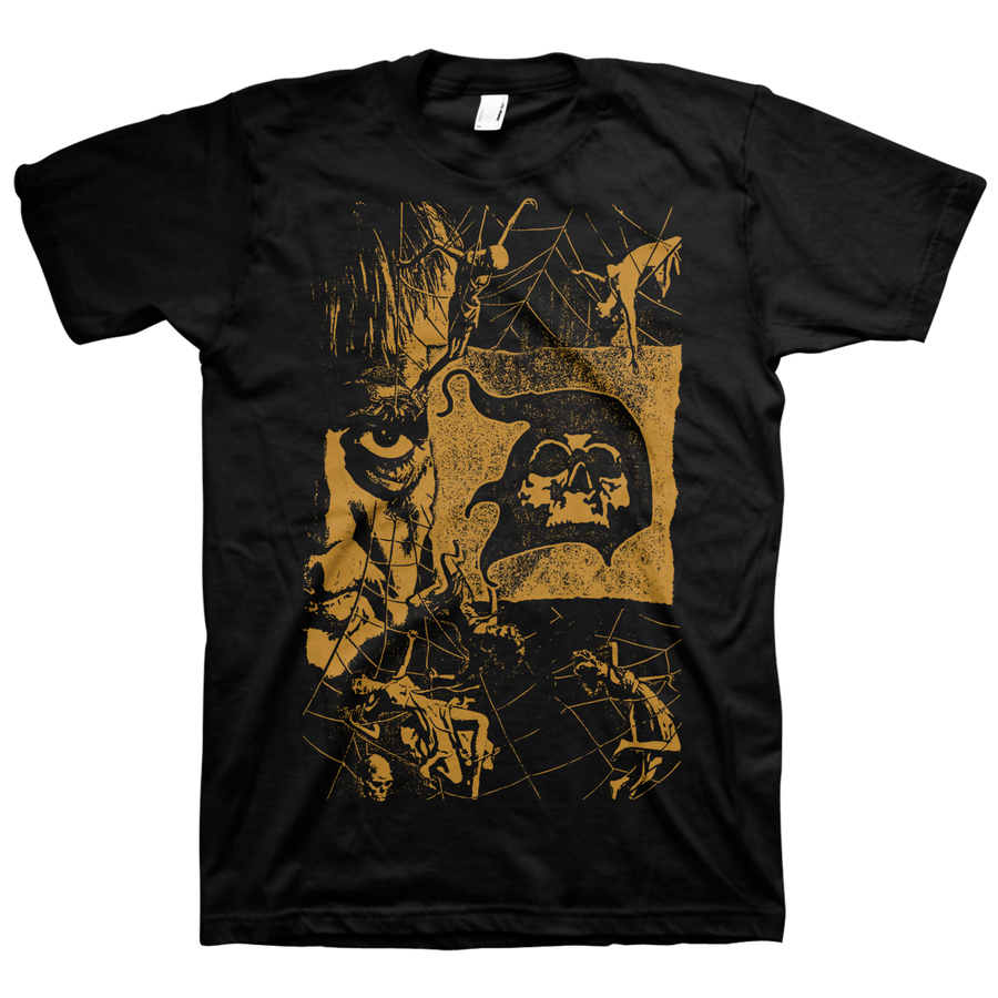 "Doomriders ""Web Of Terror"" Black T-Shirt"
