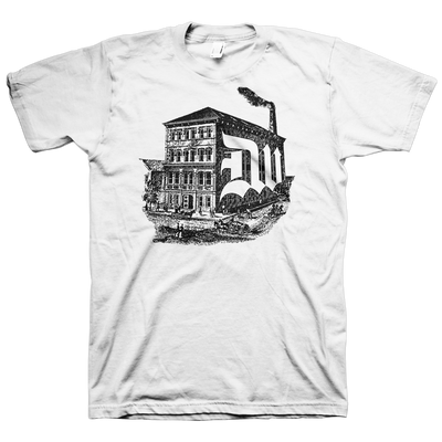 "Deathwish ""Factory"" White T-Shirt"