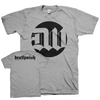 "Deathwish ""New Logo"" Grey T-Shirt"