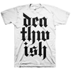 "Deathwish ""Stacked Logo"" White T-Shirt"