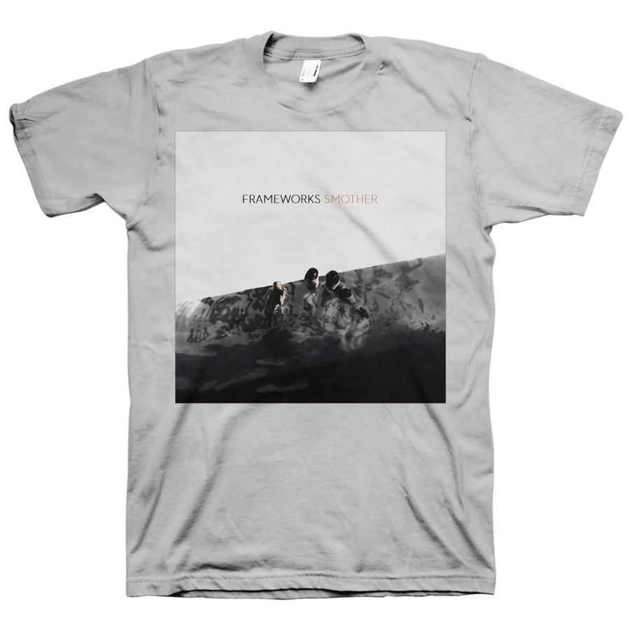 "Frameworks ""Smother"" Grey T-Shirt"