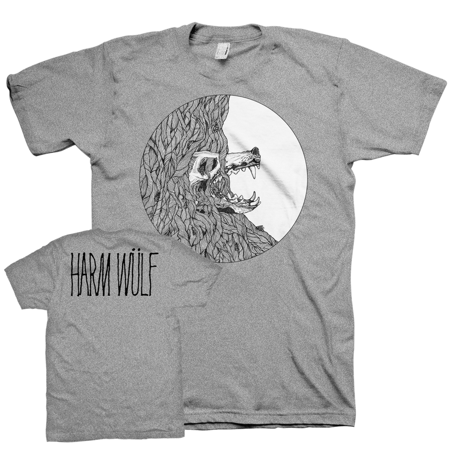"Harm Wülf ""There's Honey In The Soil..."" Grey T-Shirt"