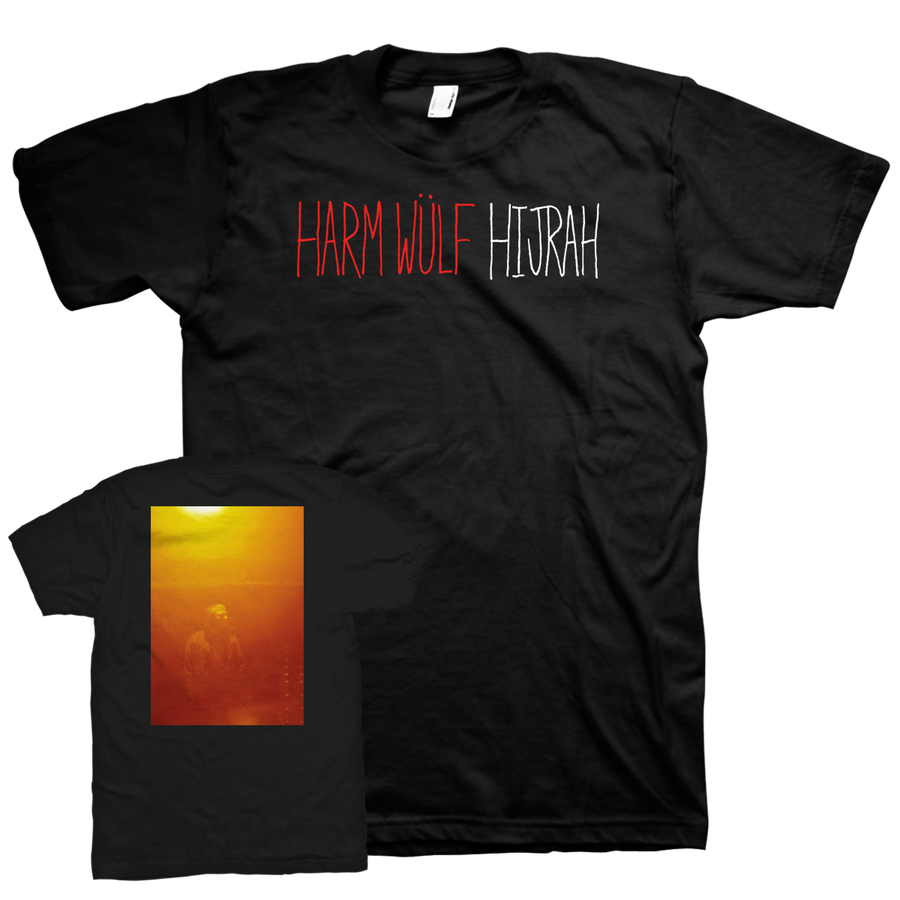 "Harm Wülf ""Hijrah"" Black T-Shirt"
