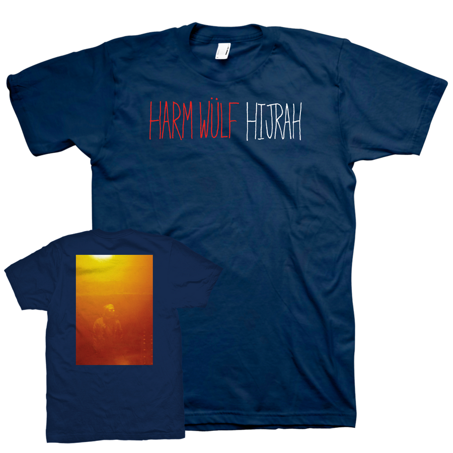 "Harm Wülf ""Hijrah"" Navy T-Shirt"