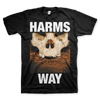 "Harm's Way ""Skull"" Black T-Shirt"
