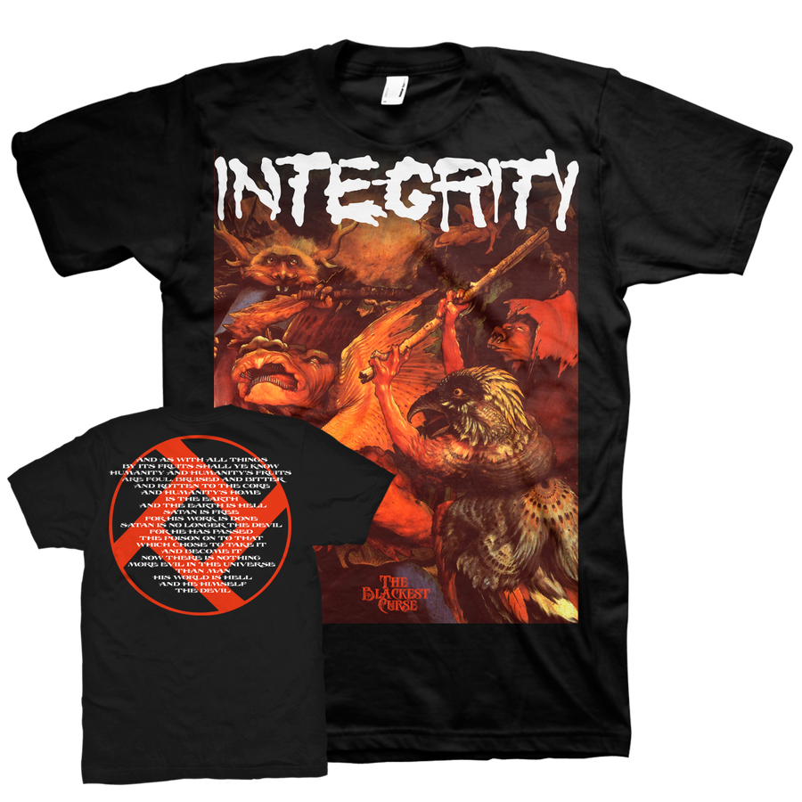"Integrity ""The Blackest Curse"" Black T-Shirt"