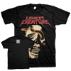 "Lowest Creature ""Snake Skull"" Black T-Shirt"