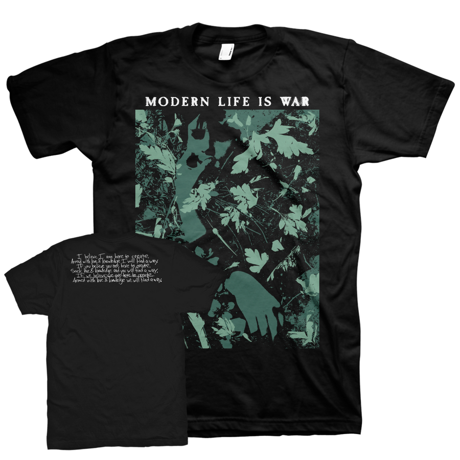 "Modern Life Is War ""Find A Way"" Black T-Shirt"