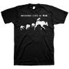 "Modern Life Is War ""Pack Of Wolves"" Black T-Shirt"