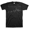 "Modern Life Is War ""Pack Of Wolves"" Black On Black T-Shirt"