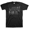 "Modern Life Is War ""Evolution"" Black T-Shirt"